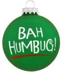 bah-humbug-double-sided-green-glass-ornament~10499149
